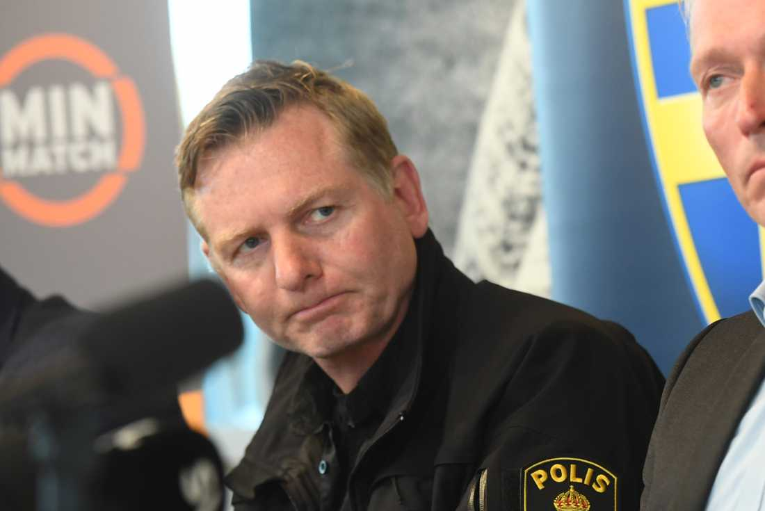 Utredningsledare Fredrik Gårdare.