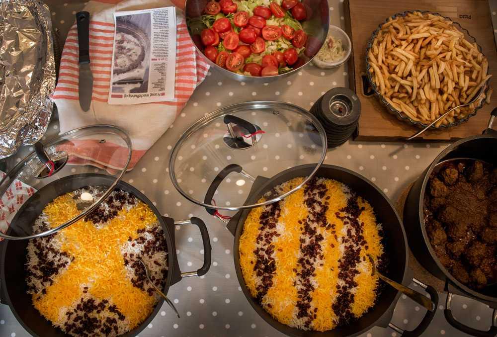 Aktivitetshelg i Nälden med internationell byfest på kvällen i from av knytkalas.