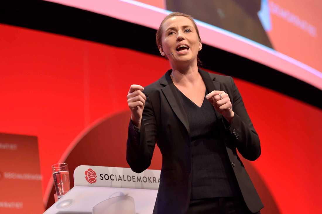 De danska socialdemokraternas ledare Mette Frederiksen
