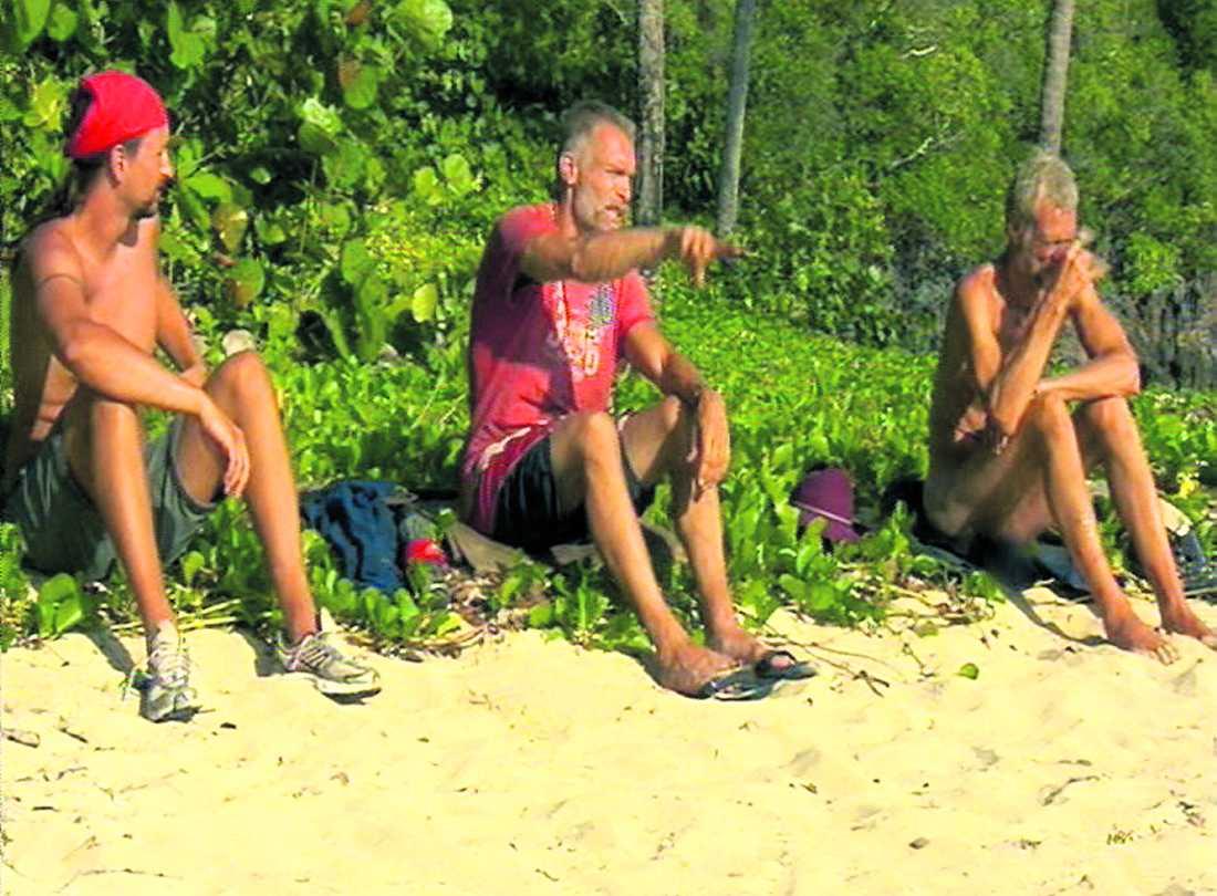 Johan Häggblom var en av männen som ofta kastade kläderna på ön – till de andra deltagarnas förtret.