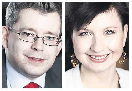 Carl Melin och Evelina Tojarczyk.
