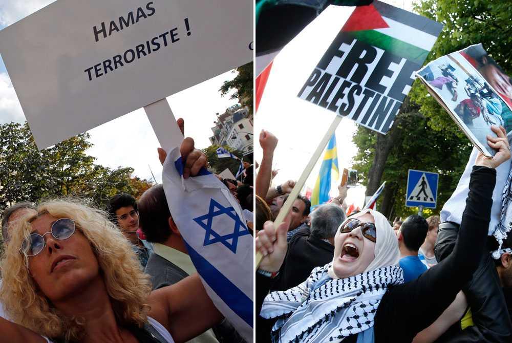 Demonstrationer till stöd för palestinier eller Israel fortsätter hållas runtom i världen. Sent på torsdagskvällen meddelade USA:s utrikesminister John Kerry att Hamas och Israel var överens om en 72 timmar lång humanitär vapenvila.