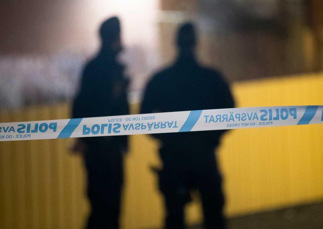 En man misstänks för försök till dråp efter en händelse strax norr om Stockholm. Arkivbild.
