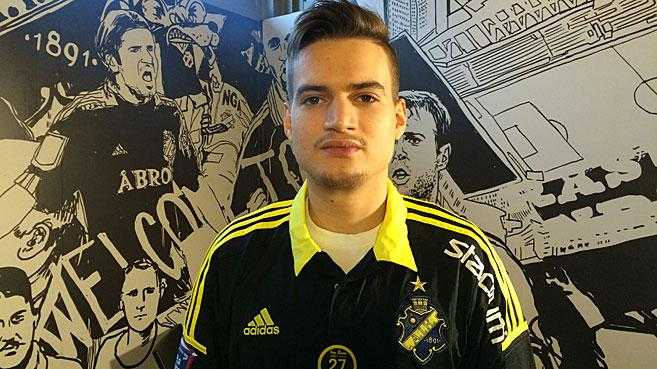 Amin Affane klar för AIK.