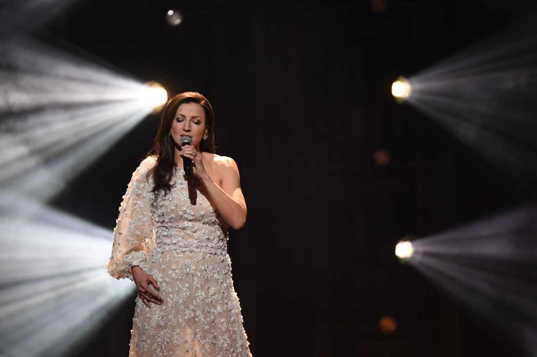 """Sonja Aldéns ballad """"Sluta aldrig gå"""" räckte inte till vidare medverkan i Melodifestivalen."""