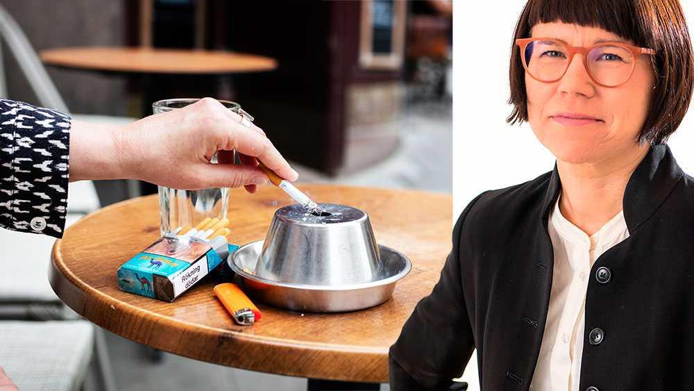 Stödet för rökfritt ökar – och allt fler upptäcker fördelarna. Tobaksrök kan vara lika farlig ute som inomhus, skriver Kristina Ljungros, generalsekreterare Astma- och Allergiförbundet.