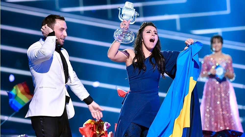 Jamala från Ukarina vann Eurovision-finalen i Globen i fjol.