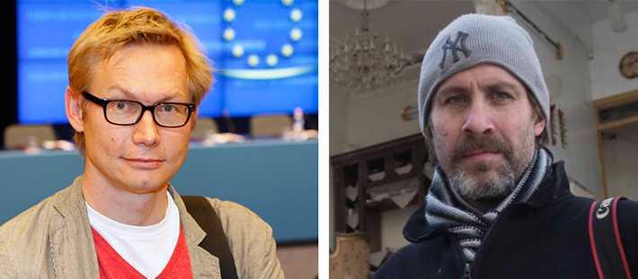 Reportern Magnus Falkehed och fotografen Niclas Hammarström har blivit bortförda av okända personer i Syrien.