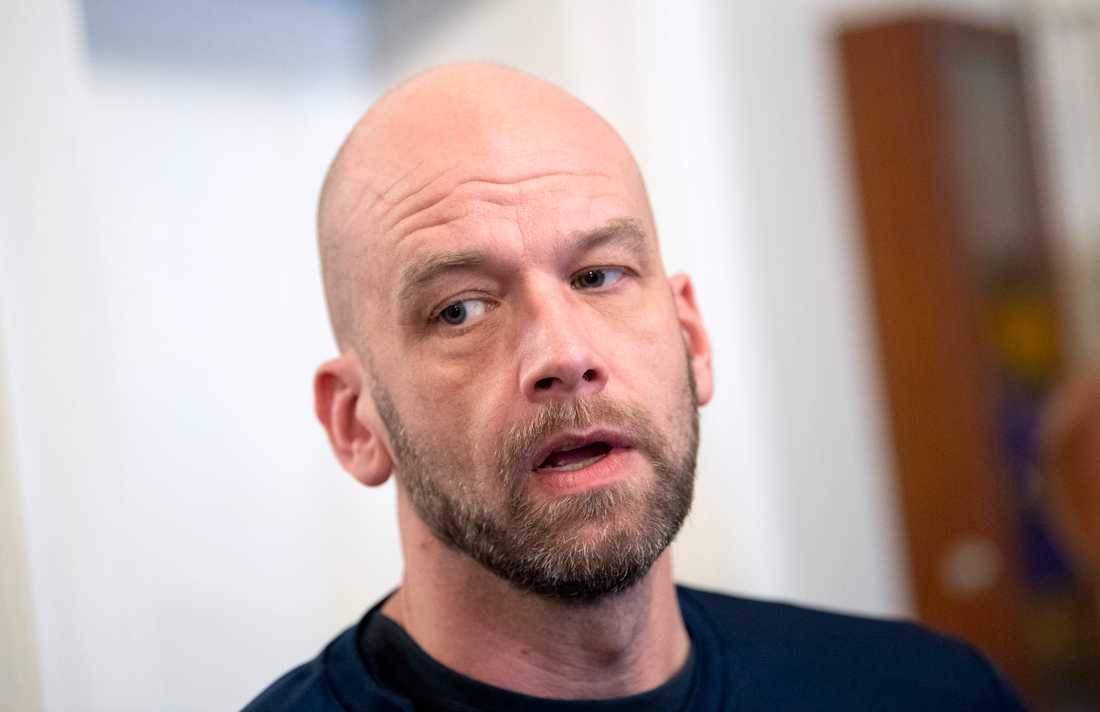 Handbollslandslagets läkare Daniel Jerrhag. Arkivbild.