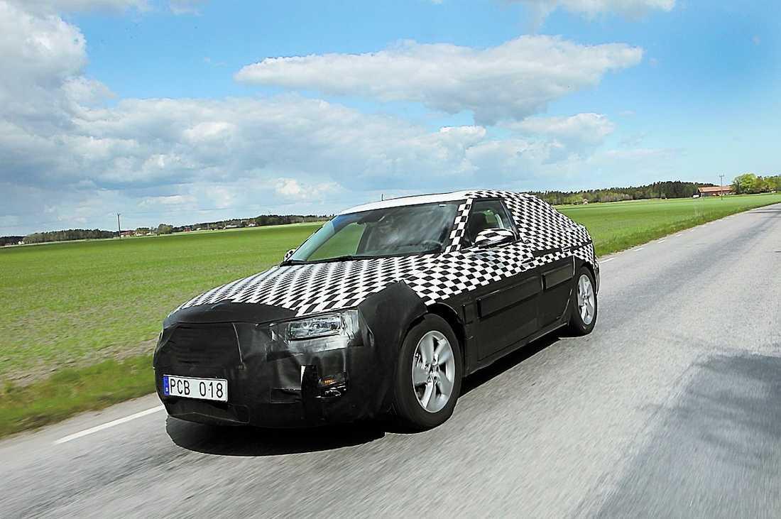 Bilen som ska rädda Saab: nya 9-5.
