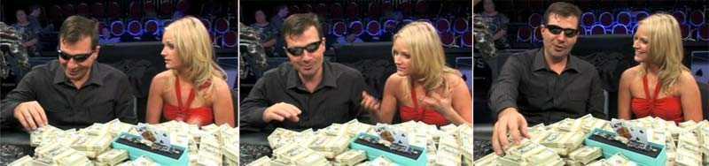 Andrew Cimpan vann L.A. Poker Classic 2009. Här blir han intervjuad av en WPT-representant direkt efter avgörandet.