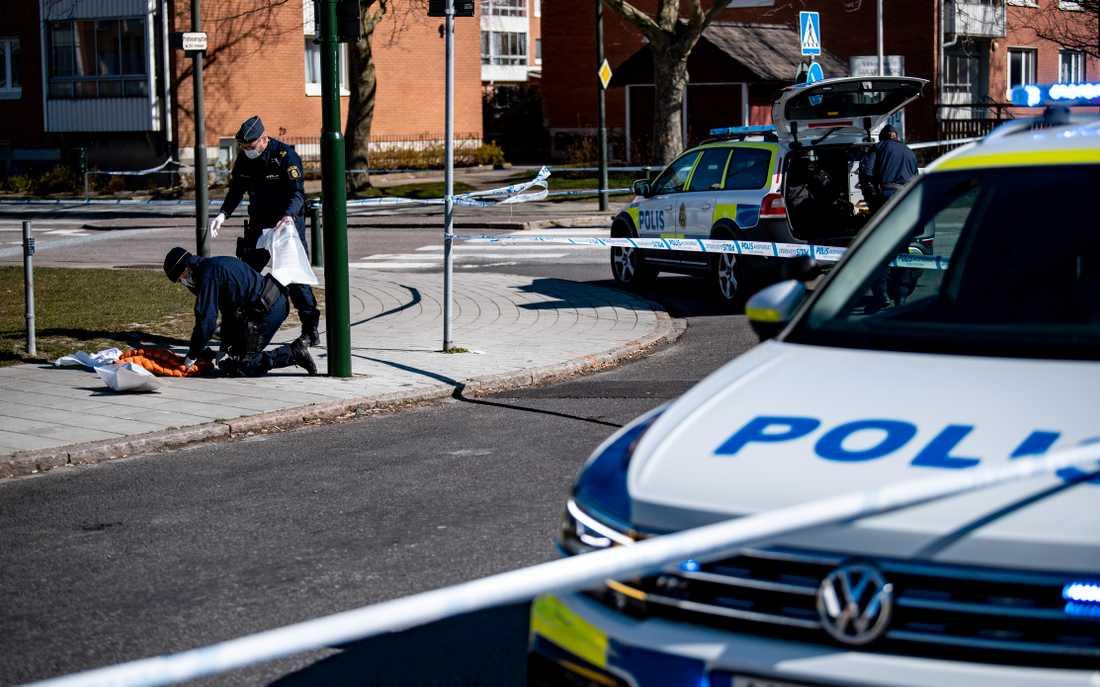 Mordförsöket inträffade på Hermodsdal i mars.