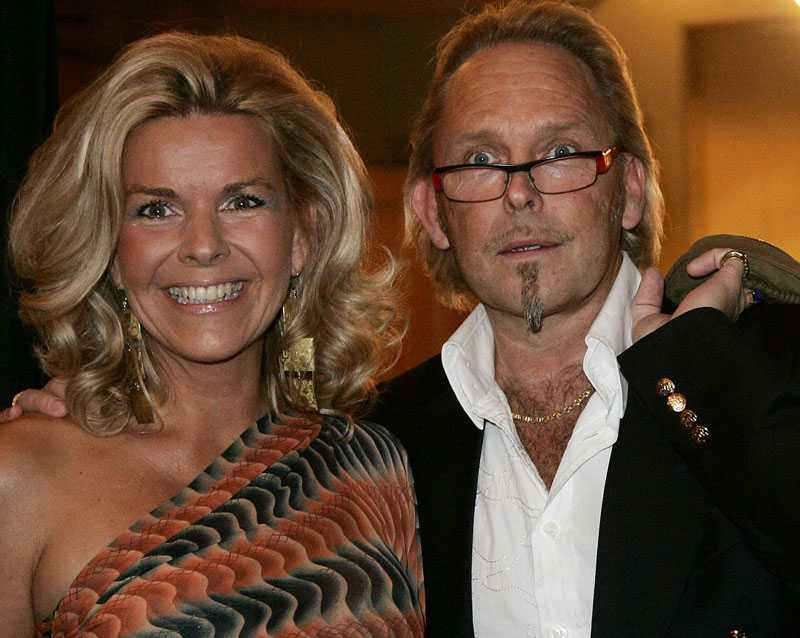 Anna Skipper och hennes ex-make Olof Skipper.