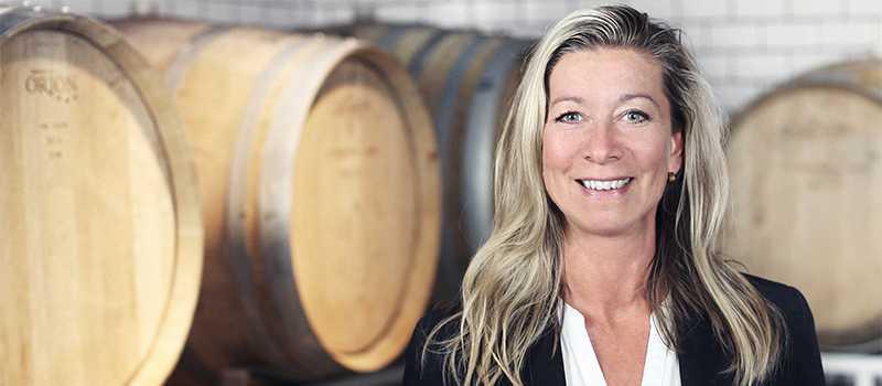 Monica Åhlund är sommelier och VD på Vinguiden.
