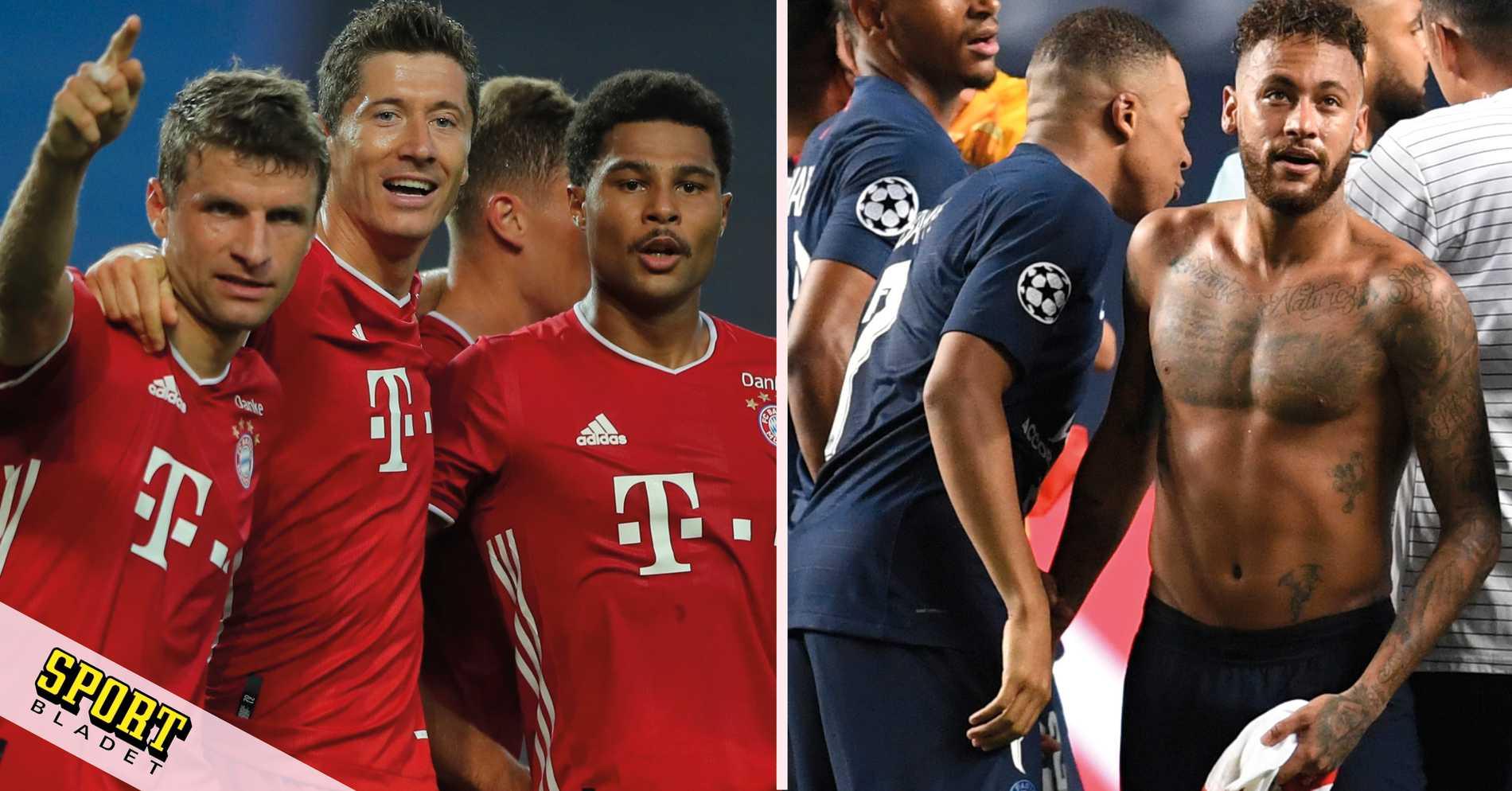 Bayern München till final i Champions League