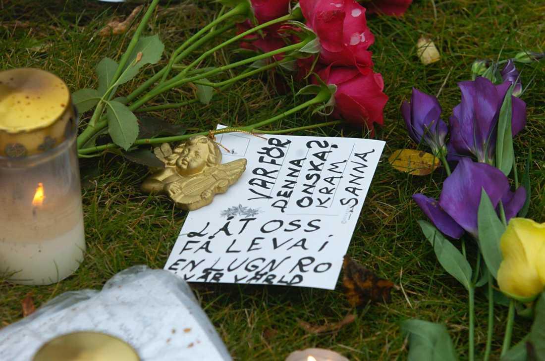 En åttaårig pojke och en 56-årig kvinna höggs ihjäl i Linköping 2004. Dubbelmordet är ett av fallen där den nya familjesökningen i dna-registren kan ge ett genombrott.
