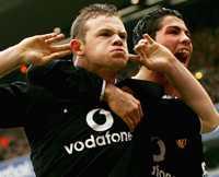 Bråkstake Underbarnet Wayne Rooney rapporteras återigen ha gjort bort sig.
