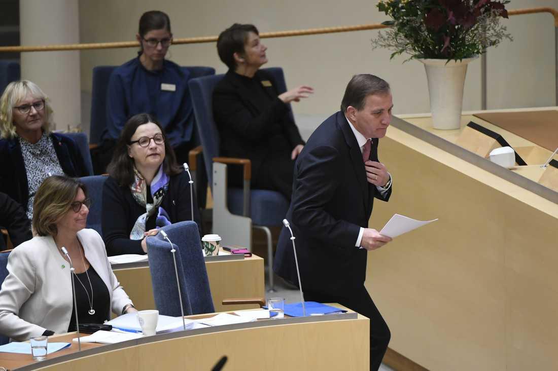 Stefan Löfven, Socialdemokraterna.