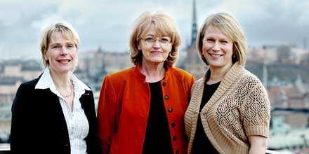 MAKTENS KVINNOR Catrin Fransson, Annika Wijkström och Carina Tovi är alla med på Veckans Affärers lista över Sveriges 125 mäktigaste kvinnor.