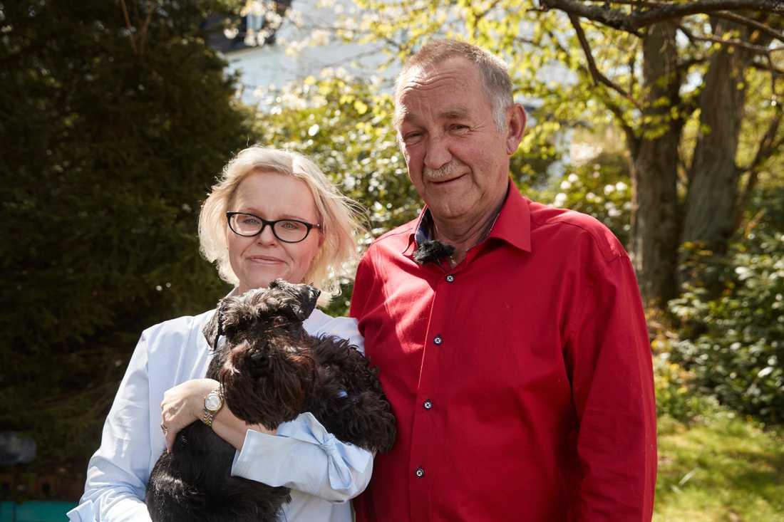 Roy räddade Marias hund Charlie från att dödas av en större hund i Hässleholm.