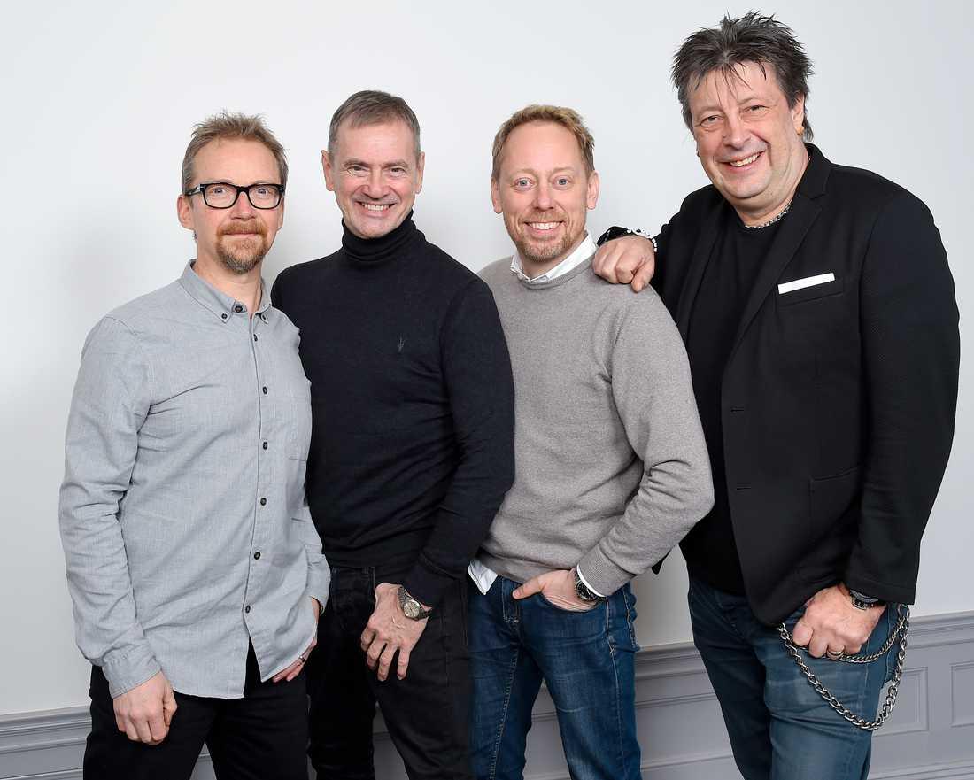 Anders Lenhoff, Christer Björkman, Peter Settman och Ola Melzig ska ta Eurovision till USA