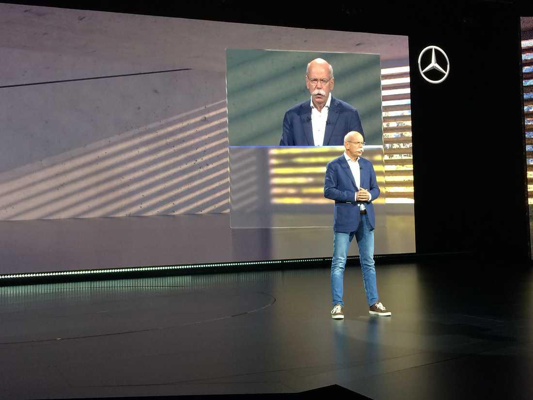 """Daimlerchefen är inte ofta på besök i Sverige, men Artipelag ansågs vara den """"perfekta"""" platsen för lansering av världens första premium pick-up."""