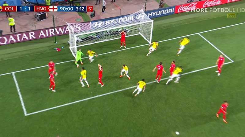 Colombias kvittering – jackpott för Sverige.