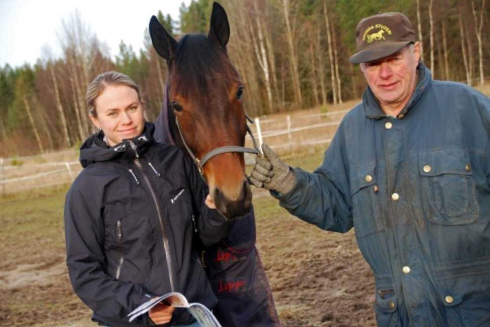Malin Viklund, Selmer I.H. och Ingemar Hultqvist.