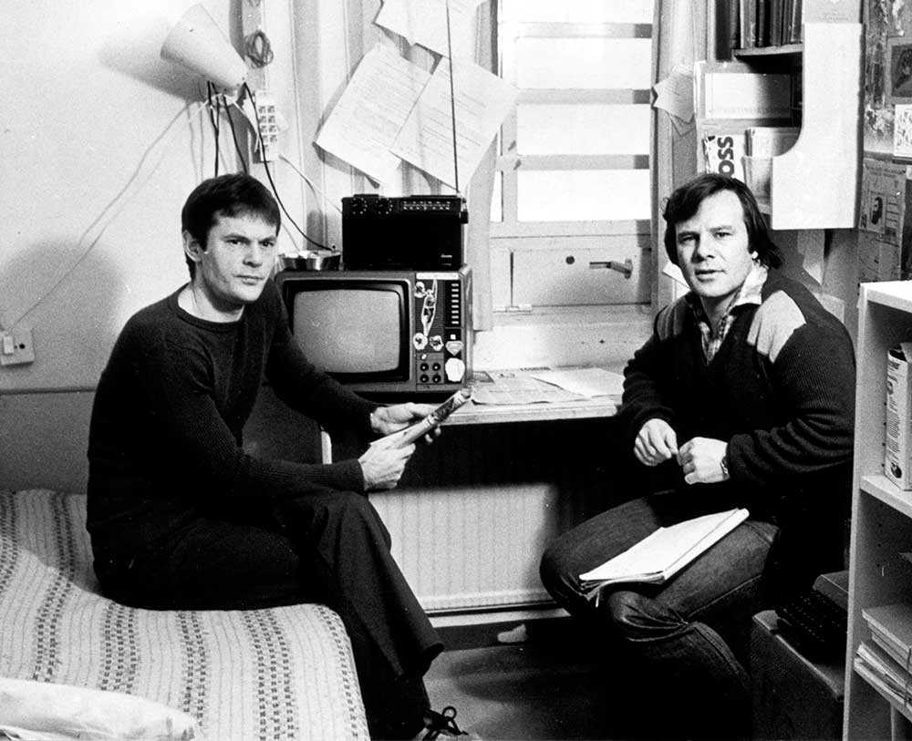 Lars-Inge Svartenbrandt intervjuas i sin cell på Kumla av Jan Guillou 1983.