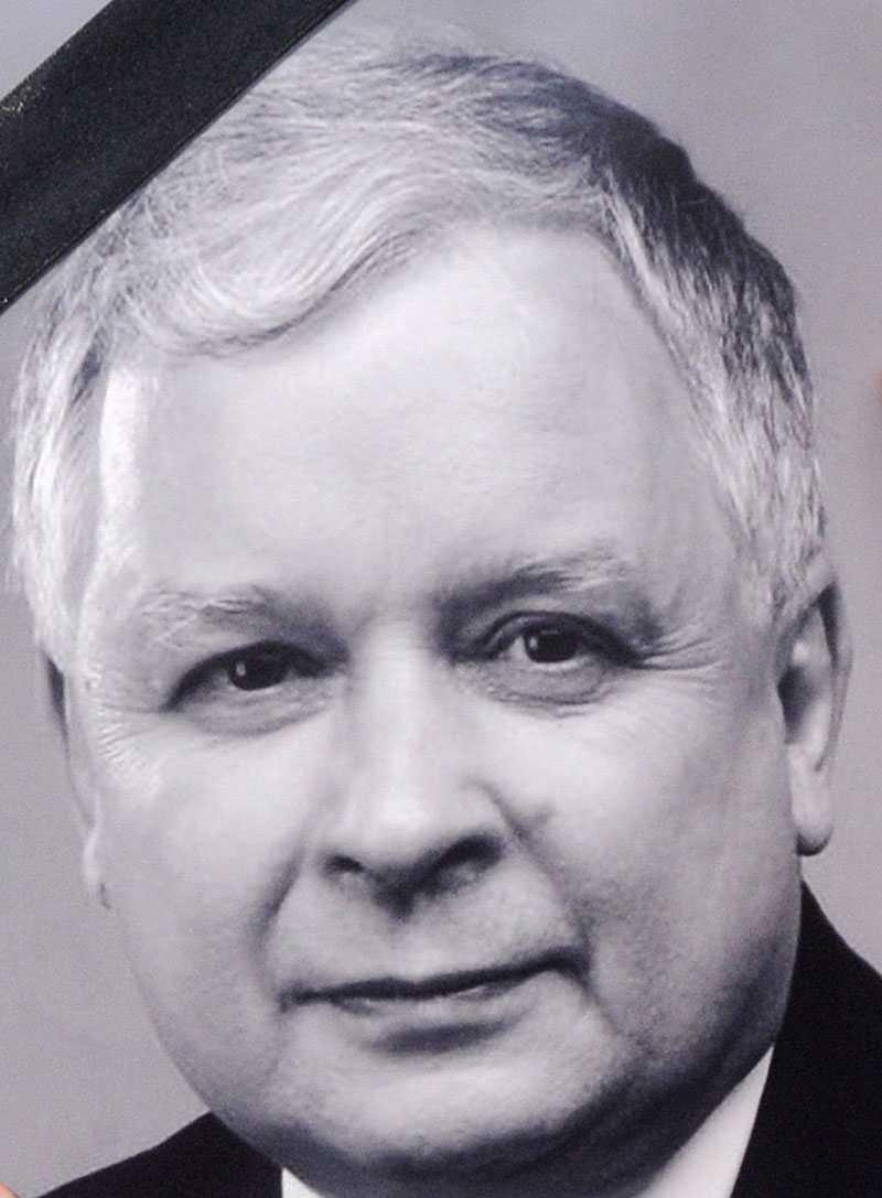 Lech Kaczynski.