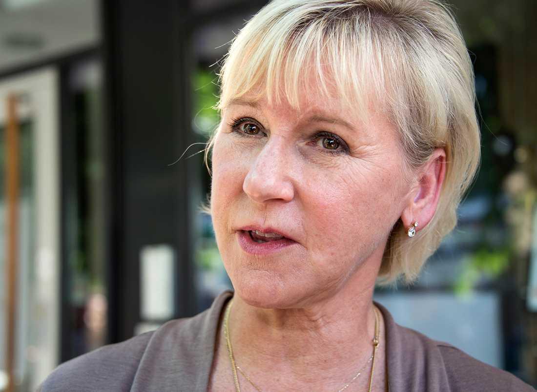 Utrikesminister Margot Wallström (S), 60