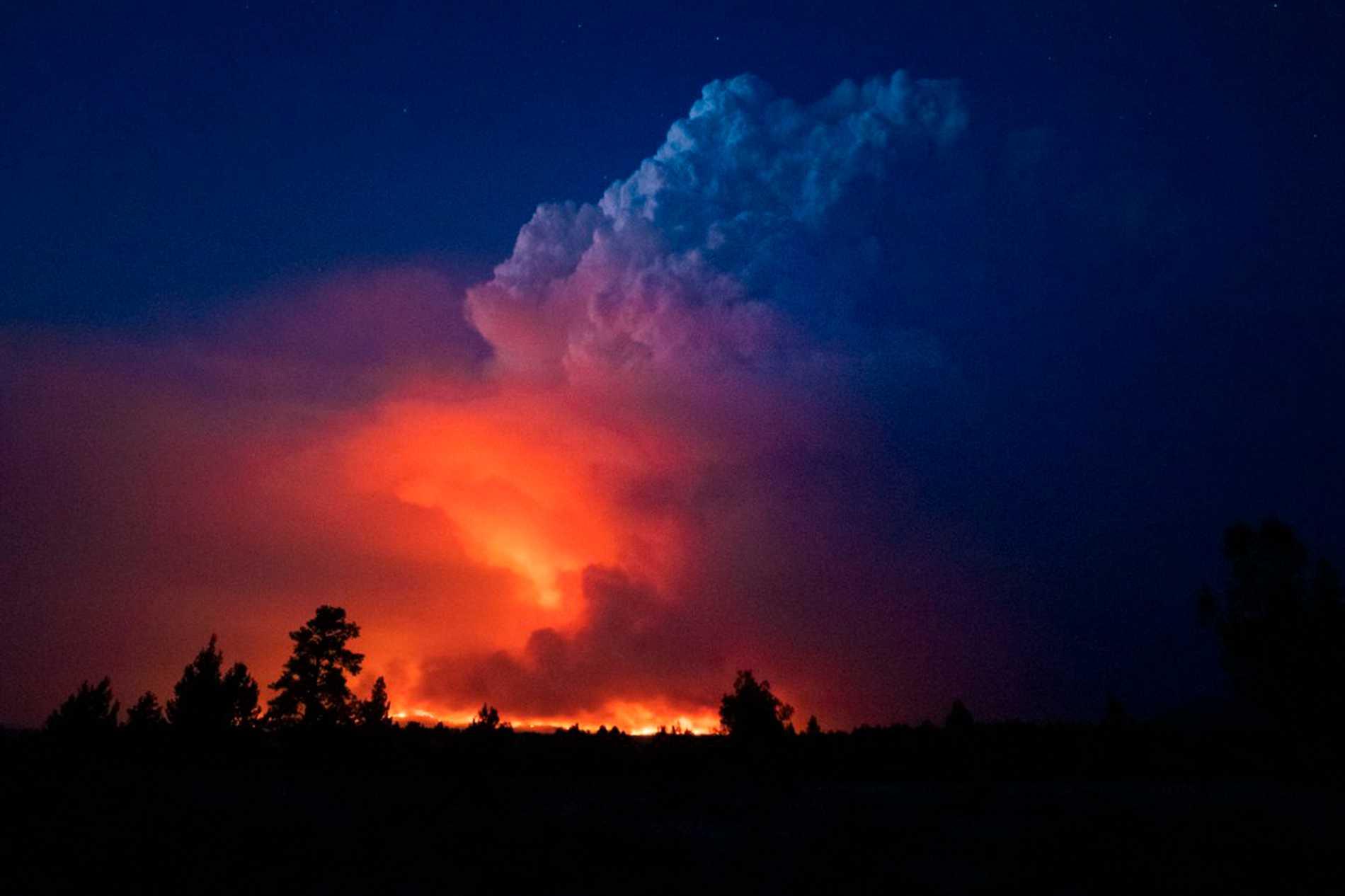 Gli incendi scoppiati nella zona erano delle dimensioni di Los Angeles.