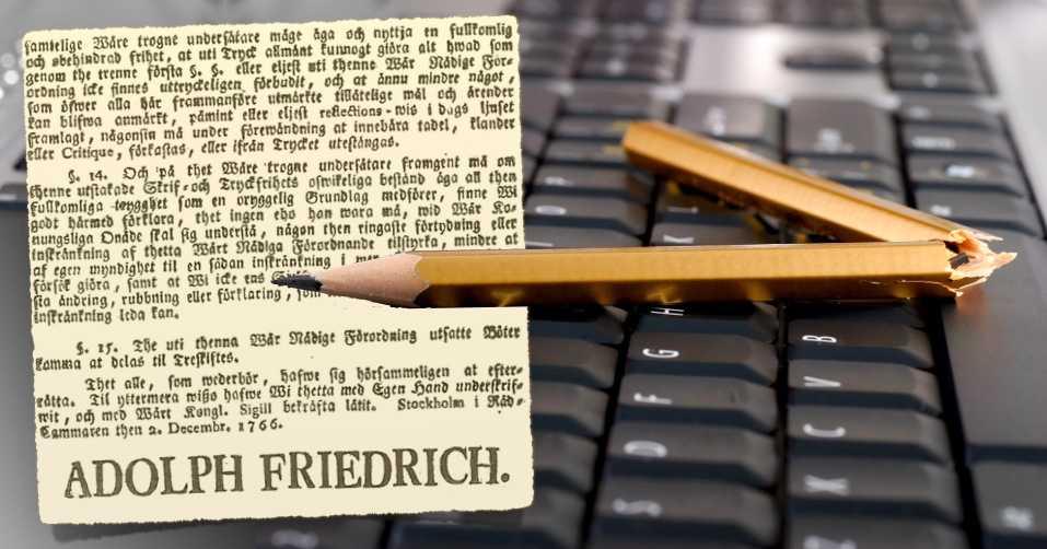 Det är idag 250 år sen svenske kungen antog världens första tryckfrihetsförordning. Men ännu arbetar journalister världen över under hot. 158 publicister skriver idag under 2 december-deklarationen –till stöd för alla  kvinnliga journalister världen över som trotsar dödshot och näthat för att försvara mänskliga rättigheter och demokrati.
