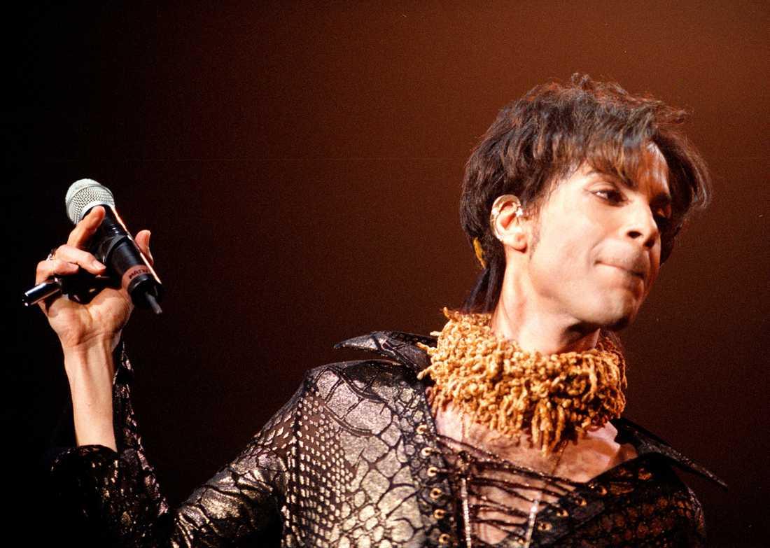 Prince på Hovet i Stockholm 1998