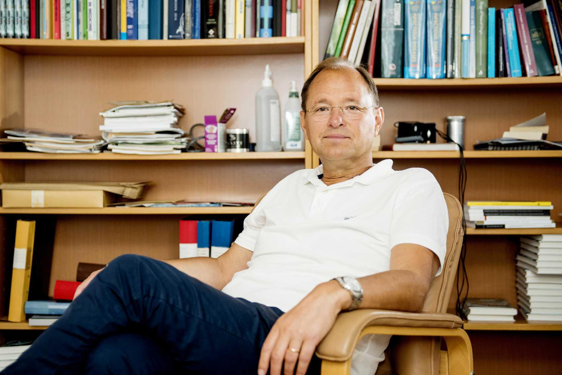 Infektionsöverläkaren Björn Olsen.