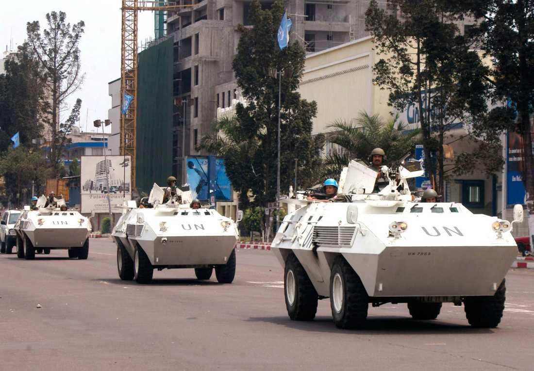 FN-trupper i Kongo
