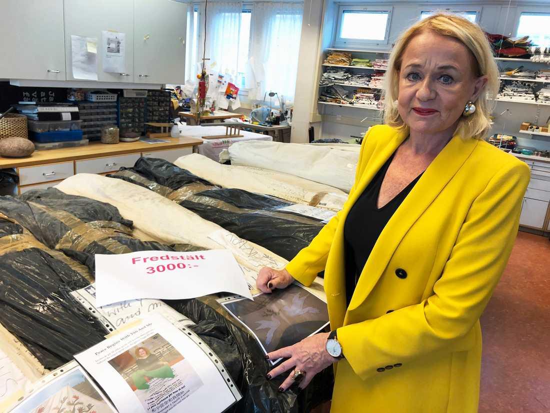 Birgitta Notlöf grundade Livstycket för 27 år sedan.