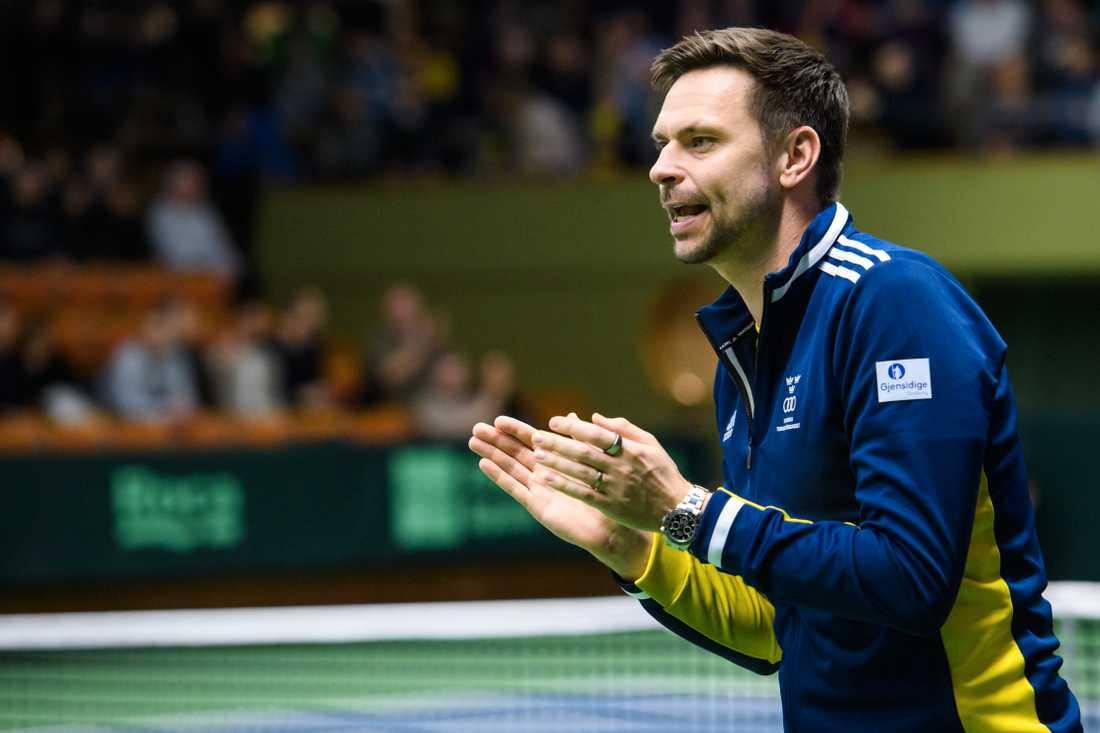Robin Söderling är svensk Davis Cup-kapten. Arkivbild.