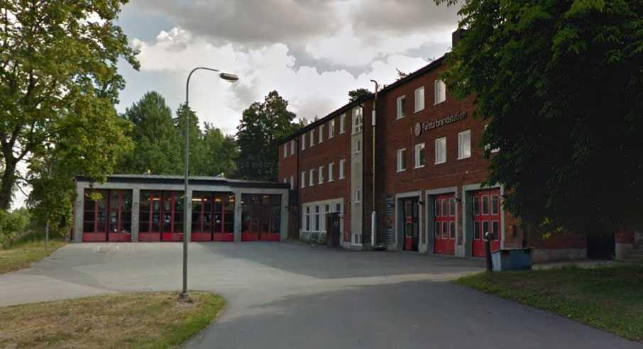 Farsta brandstation.