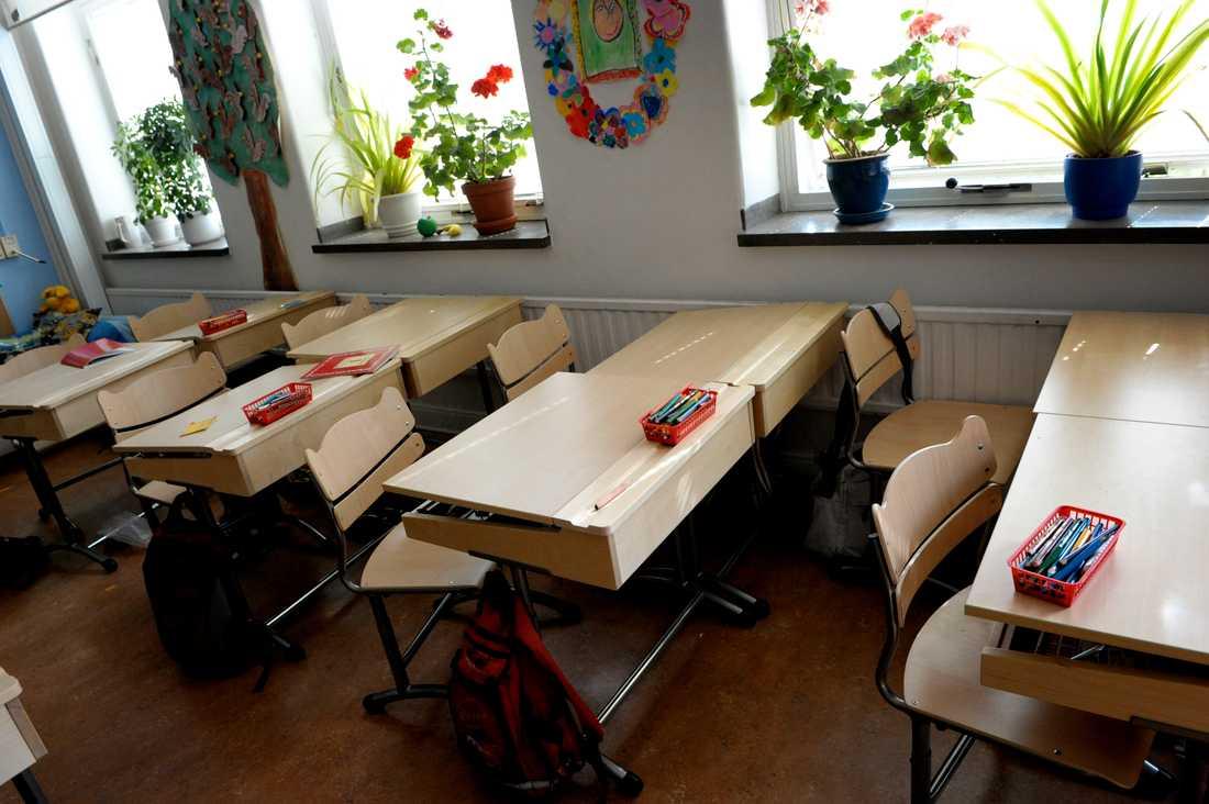 Skolorna i Valdemarsviks kommun är stängda under torsdagen. Arkivbild.
