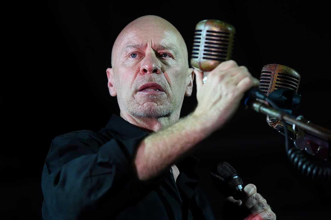 Matt Johnson och hans The The gjorde sin första Sverige-konsert på 29 år på Münchenbryggeriet i Stockholm.