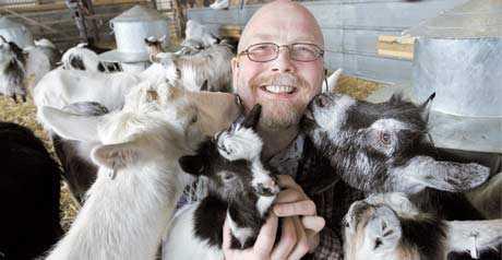 """vägrade se sina djur lida Tor Norrman och hans kollegor på Skärvångens bymejeri i Jämtland lämnade Krav på grund av reglerna för djurhållning. """"De är inga experter på djur, de som bestämmer Kravs regler. Både djuren och vi som sköter dem mådde dåligt"""", säger han."""
