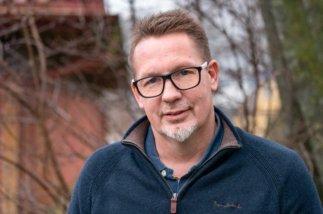 Jörgen Martinsson, vd för branschorganisationen Svensk mink.