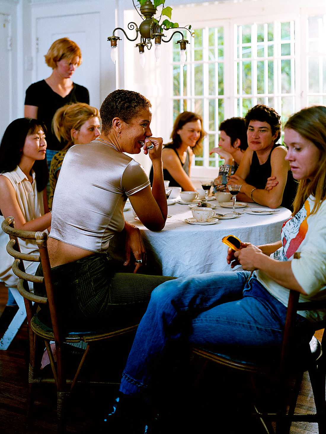 "Annica Karlsson Rixon, ""The artists' luncheon"", 1997. Foto: Annica Karlsson Rixon"