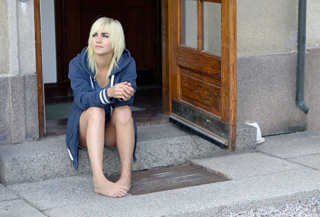 Hon är en av flera unga kvinnor som attackerats på senaste tiden i Nyköping.