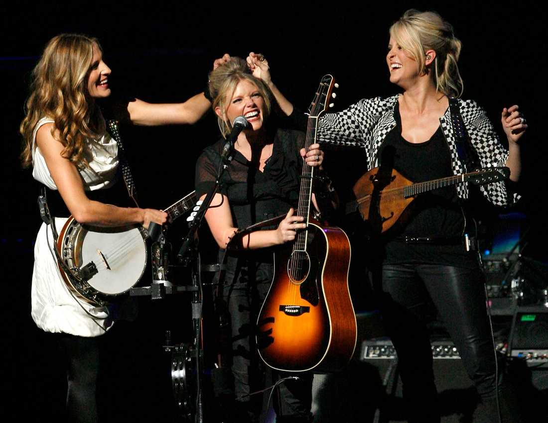 Dixie Chicks är tillbaka – här fotograferade i Los Angeles 2007.