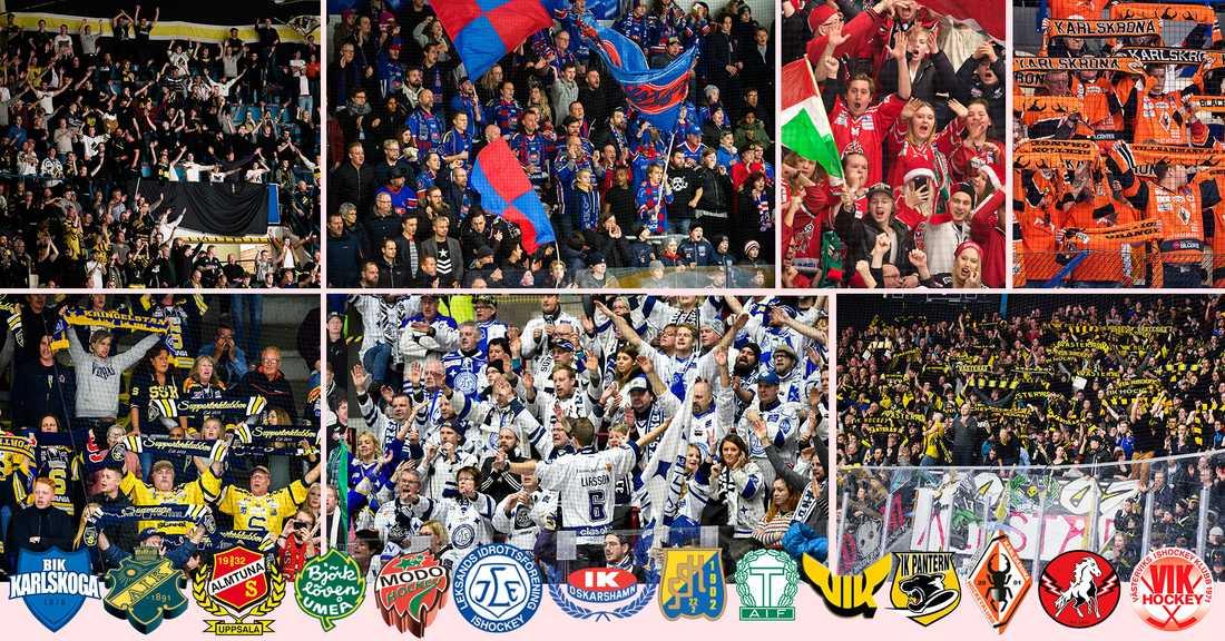 Enkät: Bästa och sämsta fansen i hockeyallsvenskan | Aftonbladet