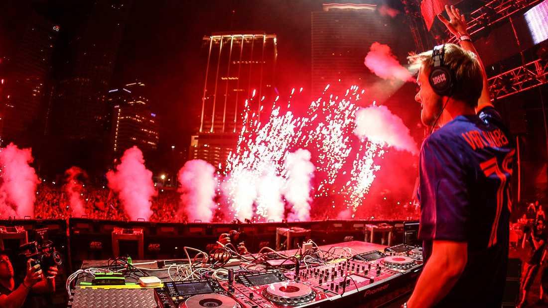Armin van Buuren på Ultra 2014. Arkivbild.