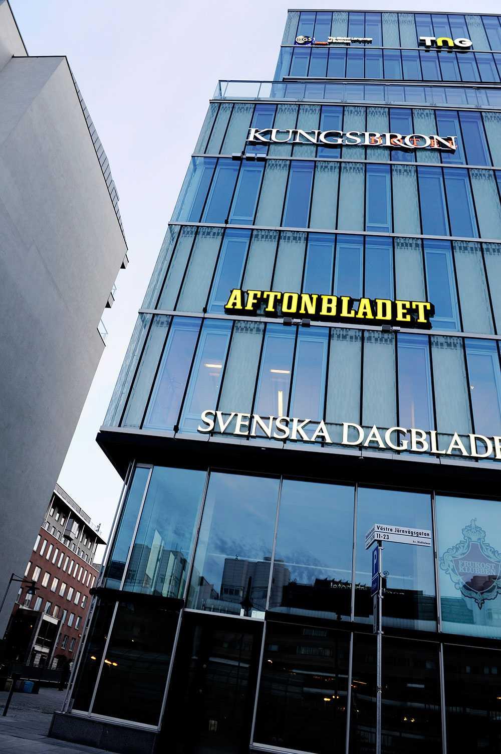 Aftonbladets redaktion.