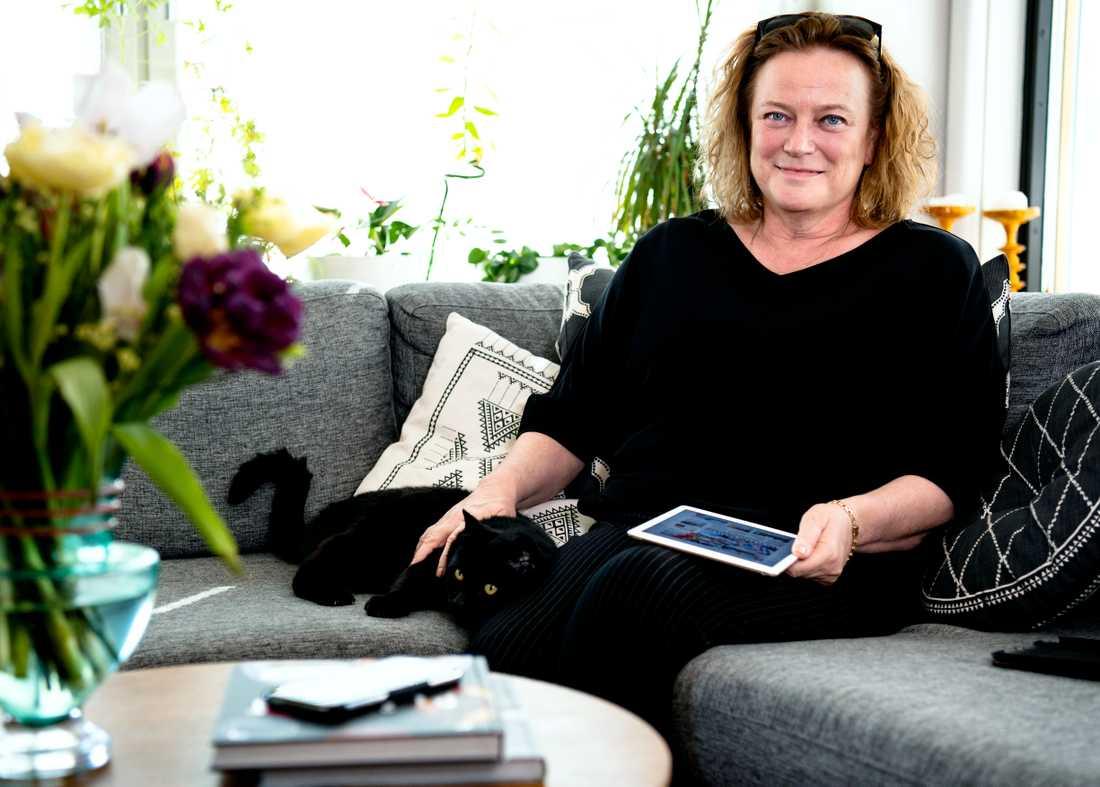 Lena K Samuelsson, Aftonbladets chefredaktör och vd.